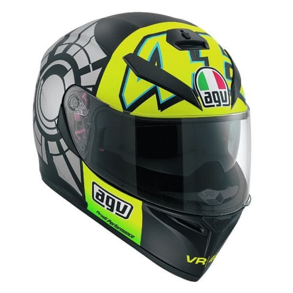 AGV přilba K-3 SV Winter Test 2012 vel.L (59-60cm)
