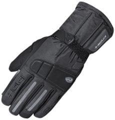 Held motocyklové rukavice  FAXON černé, Hipora (pár)