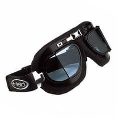 Held motocyklové brýle  CLASSIC, černý rám, lomené, dvojité sklo