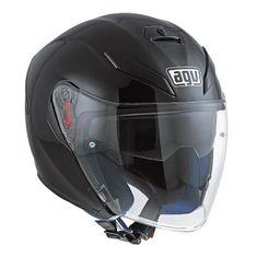 AGV motocyklová jet přilba  K-5 JET černá