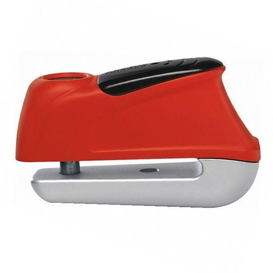 Abus zámok na kotúčovú brzdu s alarmom 350 Trigger Alarm Red