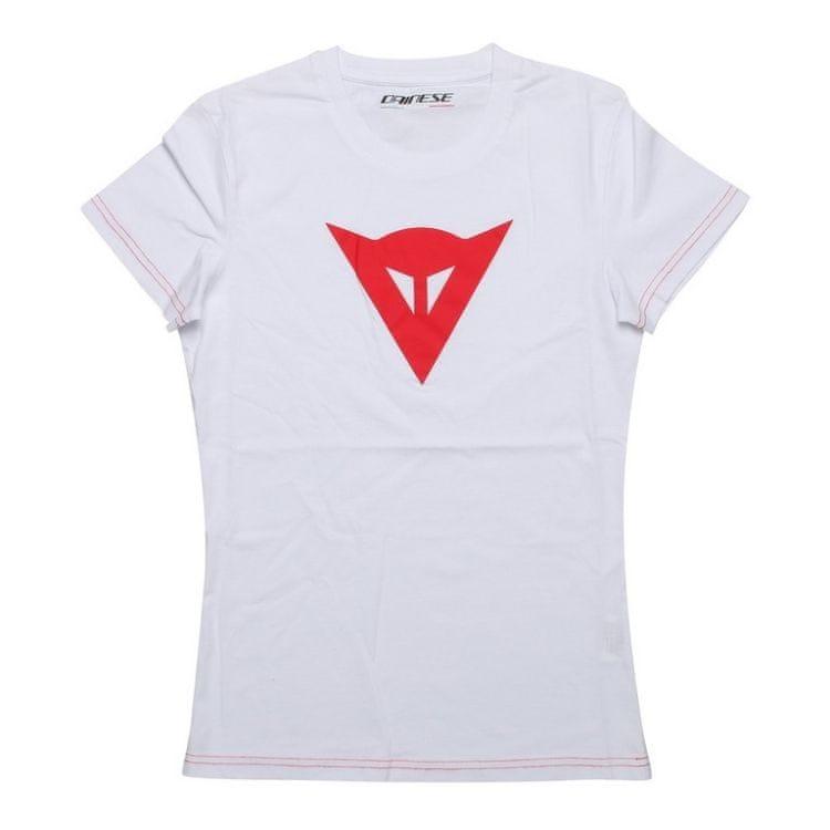 Dainese dámské triko SPEED DEMON LADY vel.M bílá/červená