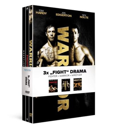 "3x ""Fight"" drama (3DVD): Fighter + Warrior + Wrestler   - DVD"