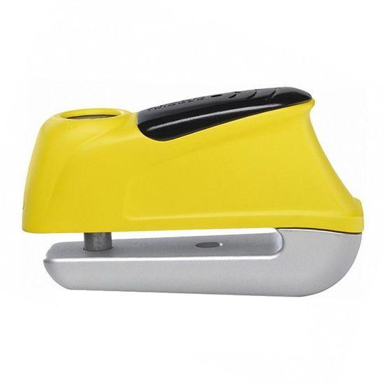 Abus zámok na kotúčovú brzdu s alarmom 350 Trigger Alarm Yellow