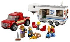 LEGO City Great Vehicles 60182 Pick-up i karawan