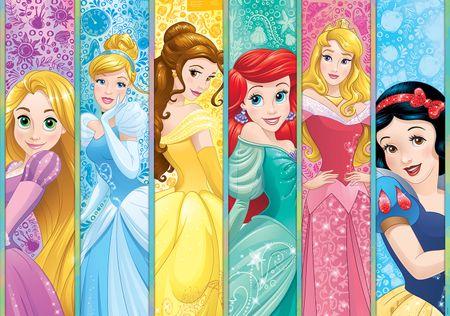 Walplus Fototapeta Disney Princezné 254x184 cm