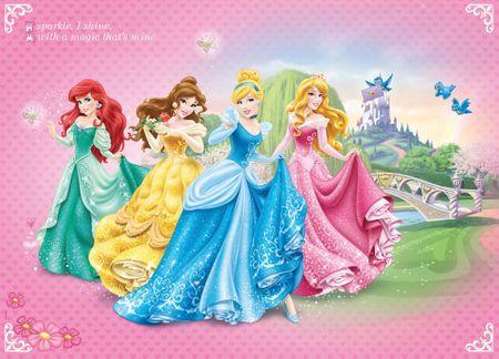 Walplus Fototapeta Disney Princezné 2 254x184 cm