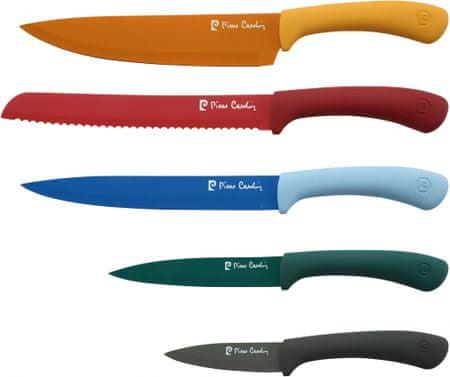 Pierre Cardin Sada barevných nožů, 5 ks