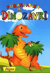 pobarvanka Dinozavri