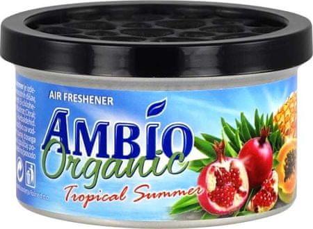 Ambio Organic osvežilec zraka iz lesnih vlaken z vonjem tropskega poletja