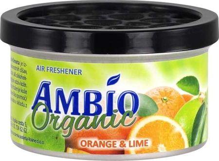 Ambio Organic osvežilec zraka iz lesnih vlaken z vonjem pomaranče in limete