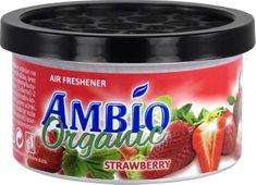 Ambio Organic osvežilec zraka iz lesnih vlaken z vonjem jagode
