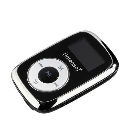 Intenso MP3 predvajalnik Music Lover, 8GB, črn
