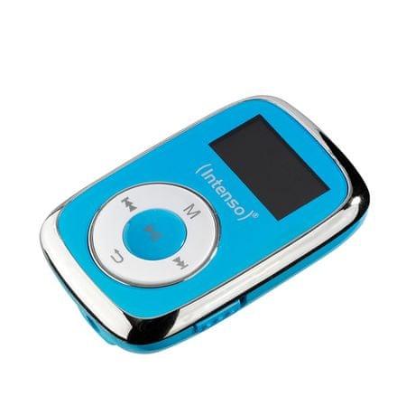 Intenso MP3 predvajalnik Music Lover, 8GB, moder