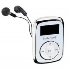 Intenso MP3 predvajalnik Music Lover, 8GB, bel