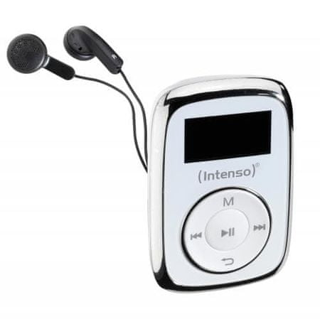 Intenso MP3 predvajalnik Music Lover, 8GB, bel