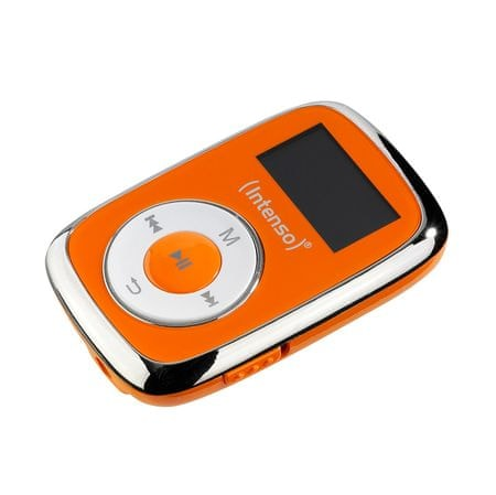 Intenso MP3 predvajalnik Music Lover, 8GB, oranžen