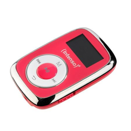 Intenso MP3 predvajalnik Music Lover, 8GB, roza