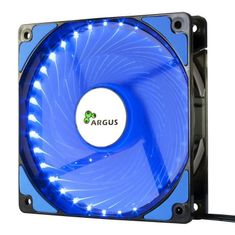 Inter-tech LED ventilator za ohišje Argus L-12025 BL, 120 mm, moder