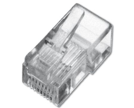 Intellinet mrežni RJ45 konektor UTP CAT.5e, 3-rezila, 10 kosov