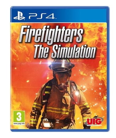 UIG Entertainment igra Firefighters The Simulation (PS4)