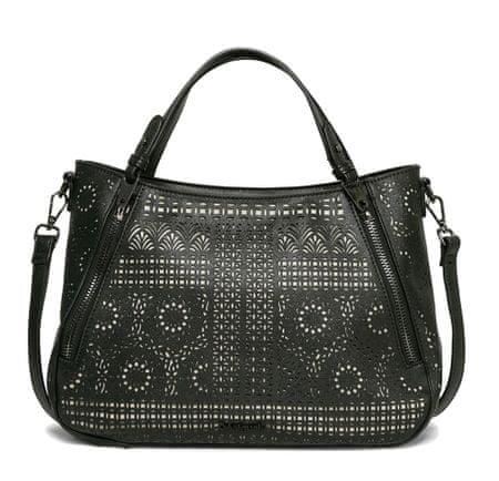 Desigual ženska ročna torbica črna Santa Lucia Sandra