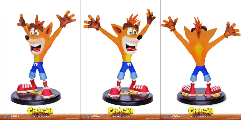 Figurka Crash Bandicoot N. Sane Trilogy - Crash Bandicoot