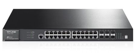 TP-Link Switch JetStream T2700G-28TQ, 28-port, 4x Gigabit SFP+
