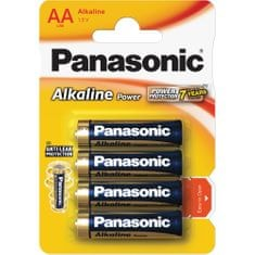 Panasonic Alkaline Power AA LR6 4BP