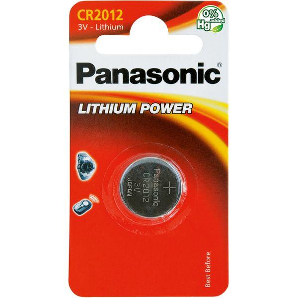 Panasonic Baterie Lithium Power (CR-2012/1B), 1ks