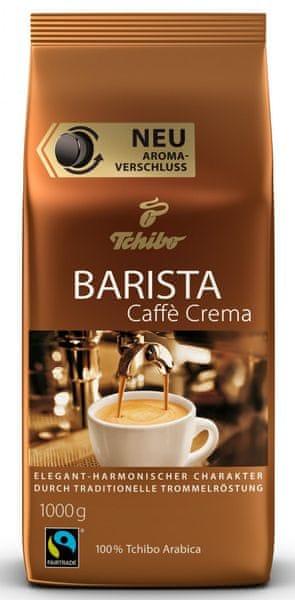 Tchibo Barista Caffé Crema 1 kg, zrno