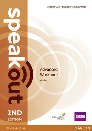 Clare Antonia: Speakout Advanced 2nd Edition Workbook with Key