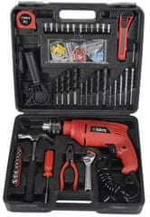 Iskra vrtalnik vibracijski s setom orodja GX-BMC002 500W
