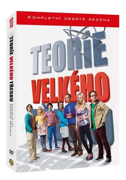 Teorie velkého třesku - Kompletní 10.série (3DVD) - DVD