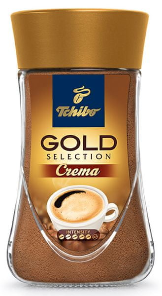 Tchibo Gold Selection Créma 180g, instantní káva