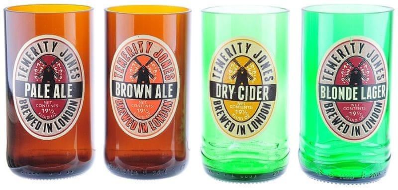 Temerity Jones Set 4ks sklenic na pivo