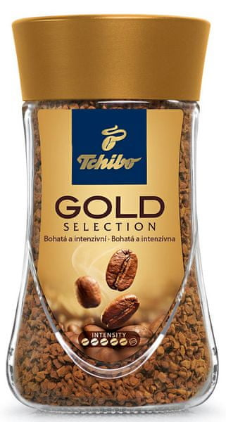 Tchibo Gold Selection 200g, instantní káva
