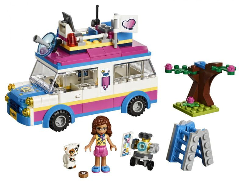 LEGO® Friends 41333 Olivia a její speciální vozidlo