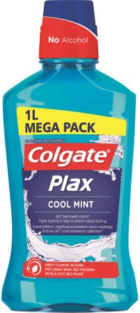 Colgate Plax Multi Protection Cool Mint ústna voda 1 l