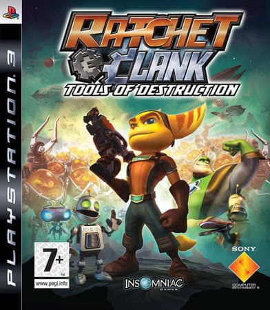 Sony Ratchet & Clank: Tools of Destruction (PS3)