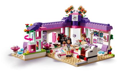 LEGO Friends 41336 Artystyczna kawiarnia Emmy