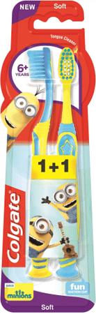 Colgate Smiles 6+ Minions dětský zubní kartáček 1+1