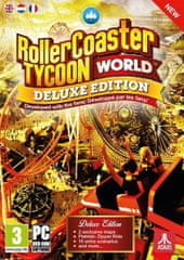 Atari RollerCoaster Tycoon - World Deluxe Edition (PC)