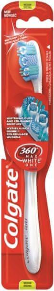 Colgate 360° Max White One zubní kartáček