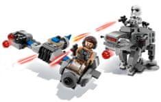 LEGO Star Wars 75195 Mikrobojevniki Ski Speeder proti Walkerju Prvega reda