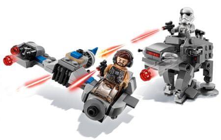 LEGO Star Wars™ 75195 Ski Speeder™ kontra Maszyna krocząca Najwyższego Porządku™