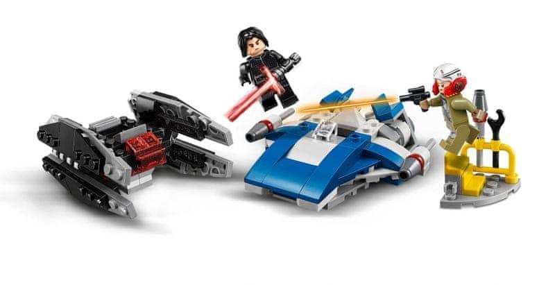 LEGO® Star Wars™ 75196 Stíhačka A-Wing™ vs. mikrostíhačka TIE Silencer™