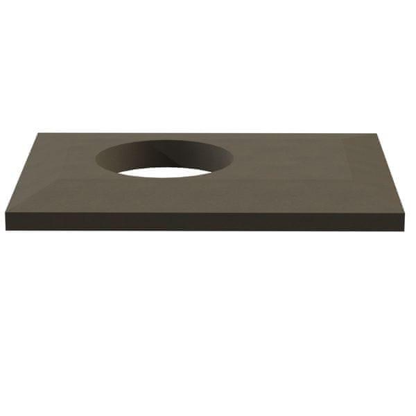 TECH TRADING GROUP Krycí deska - betonová, s odvětráním, DN 235 mm
