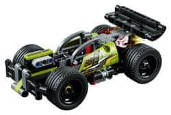 LEGO Technic 42072 Zelené pretekárske auto