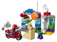 LEGO DUPLO 10876 Dogodivščine Spidermana in Hulka